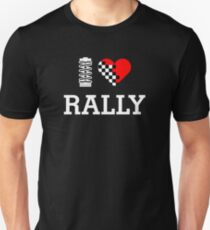 I Love RALLY (2) Unisex T-Shirt
