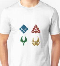 Supreme Commander Faction Logos Unisex T-Shirt