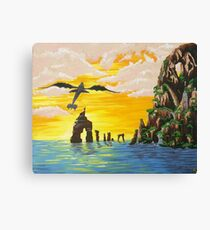 How to train your Dragon Fanart Canvas Print