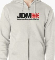 Japanese Domestic Market JDM (2) Zipped Hoodie