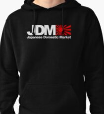 Japanese Domestic Market JDM (3) Pullover Hoodie