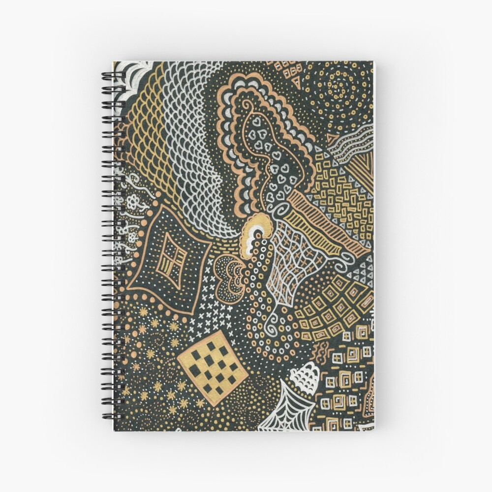 Zentangle 1 Spiral Notebook