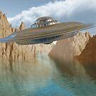 Flying saucer by Paul Fleet