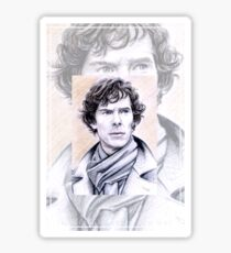 Benedict Cumberbatch miniature BC1 Sticker