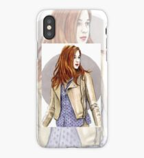 Karen Gillan miniature KG1 iPhone Case/Skin