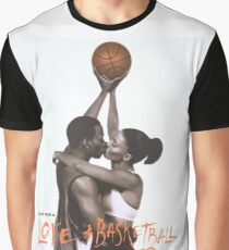LOVE & BASKETBALL MOVIE POSTER Graphic T-Shirt
