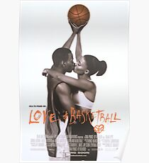 LOVE & BASKETBALL MOVIE POSTER Poster