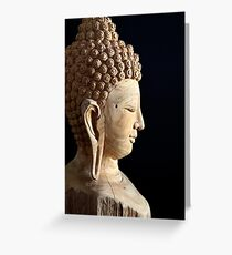 Peaceful Buddha Greeting Card
