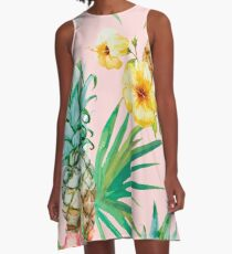 Hawaii A-Line Dress