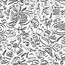 - Coffee Shop pattern - by Losenko  Mila