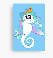 Princess Sealestia, Ruler of Aquastria Canvas Print