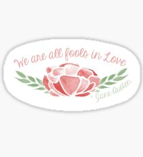Fools in Love Sticker