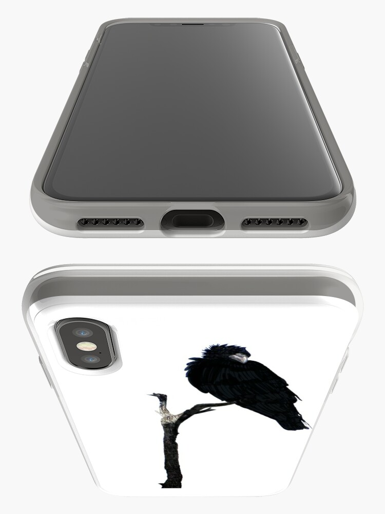Alternate view of Punk Rock Raven iPhone Cases & Covers