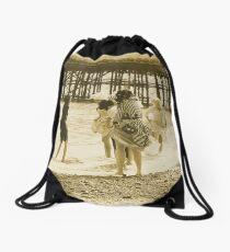 Victorian ladies Drawstring Bag