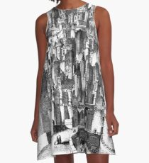 The Castle of Gormenghast A-Line Dress