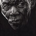 Nelson - Charcoal and Compressed Charcoal on paper by Paul Davenport