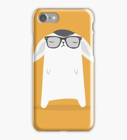 Hipster Bunny iPhone Case/Skin