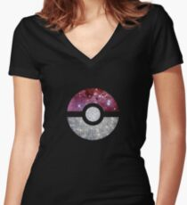 PokéSpace Women's Fitted V-Neck T-Shirt