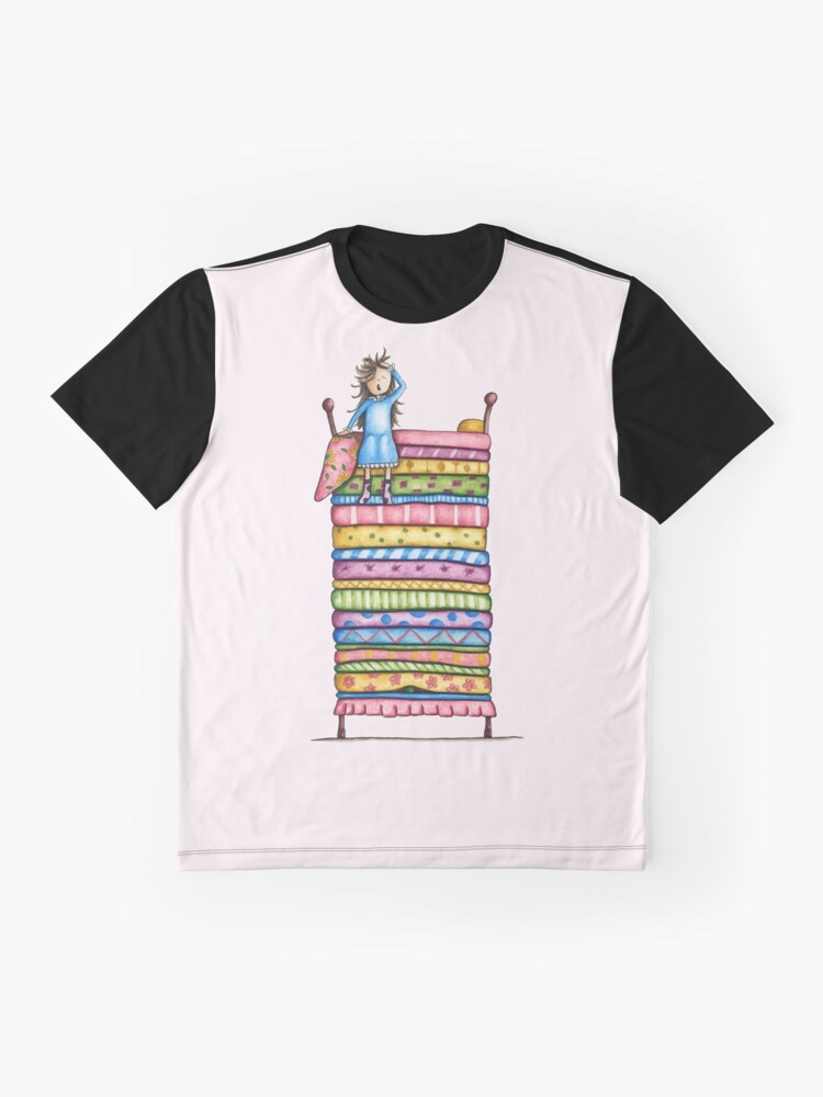 Alternate view of Princess and the Pea Graphic T-Shirt
