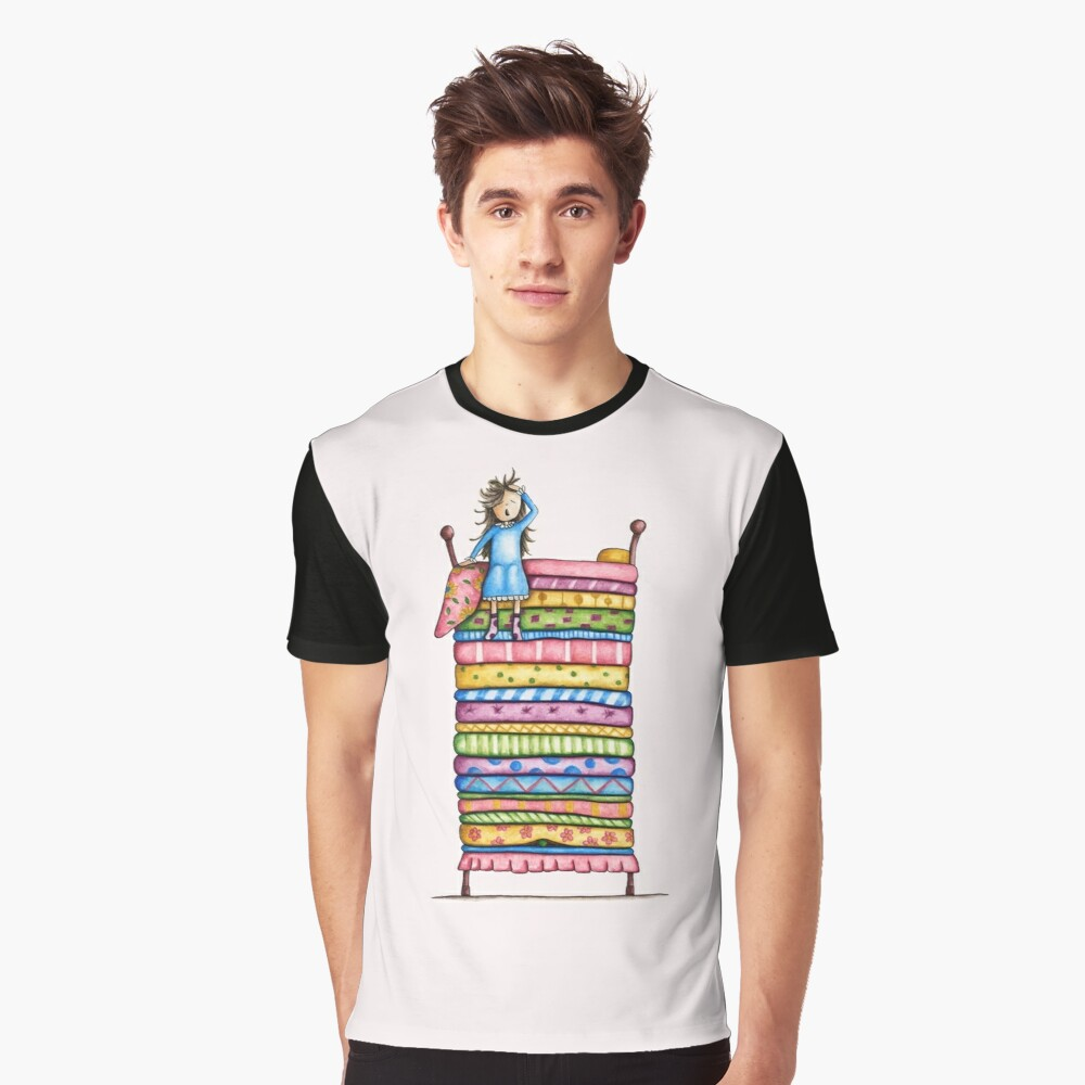 Princess and the Pea Graphic T-Shirt