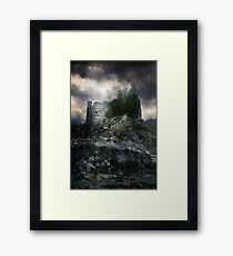 Ancient Stone Framed Print