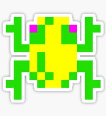 Frogger  Classic Arcade Game 80s Sticker