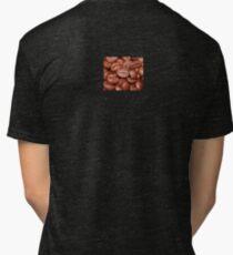 Coffee Bean Lover T-Shirt Dress Duvet Sticker Tri-blend T-Shirt