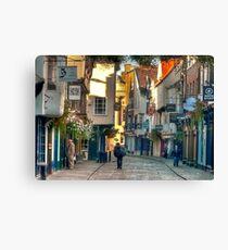 Stonegate - York,England,UK Canvas Print