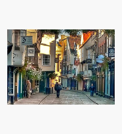 Stonegate - York,England,UK Photographic Print