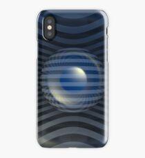 Gestreifte Kugel iPhone Case/Skin