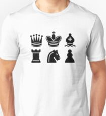 Chess game Unisex T-Shirt