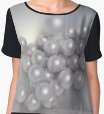 Perlen fallen in eine Schale Women's Chiffon Top