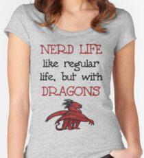 Nerd Life Women's Fitted Scoop T-Shirt