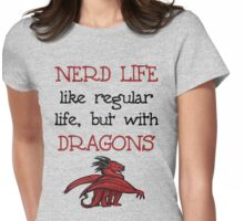 Nerd Life Womens Fitted T-Shirt