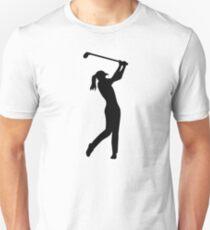 Camiseta ajustada Chica de mujer de golf