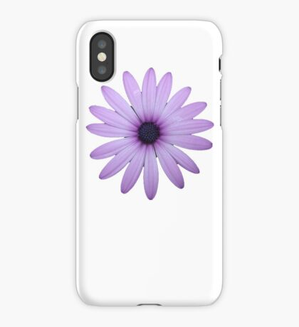 Mauve Flower Tee iPhone Case/Skin