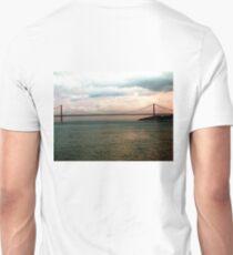 APRIL 25 BRIDGE OVER THE TAGUS, LISBON Unisex T-Shirt