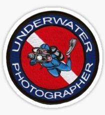 underwater photographer Sticker