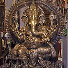 Hindu Deity by phil decocco