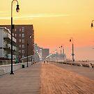 Steamy Boardwalk by AnneDB