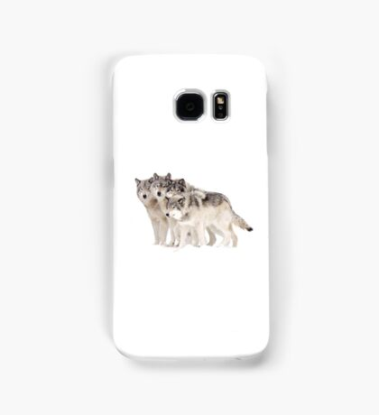 The Pack - Timber wolves Samsung Galaxy Case/Skin