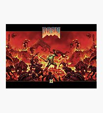 DOOM - Classic Version Photographic Print