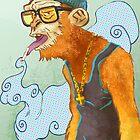 Monkey Smoke by Daniele (Dan-ka) Montella