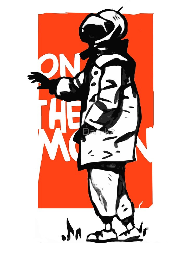 On the moon by Daniele (Dan-ka) Montella