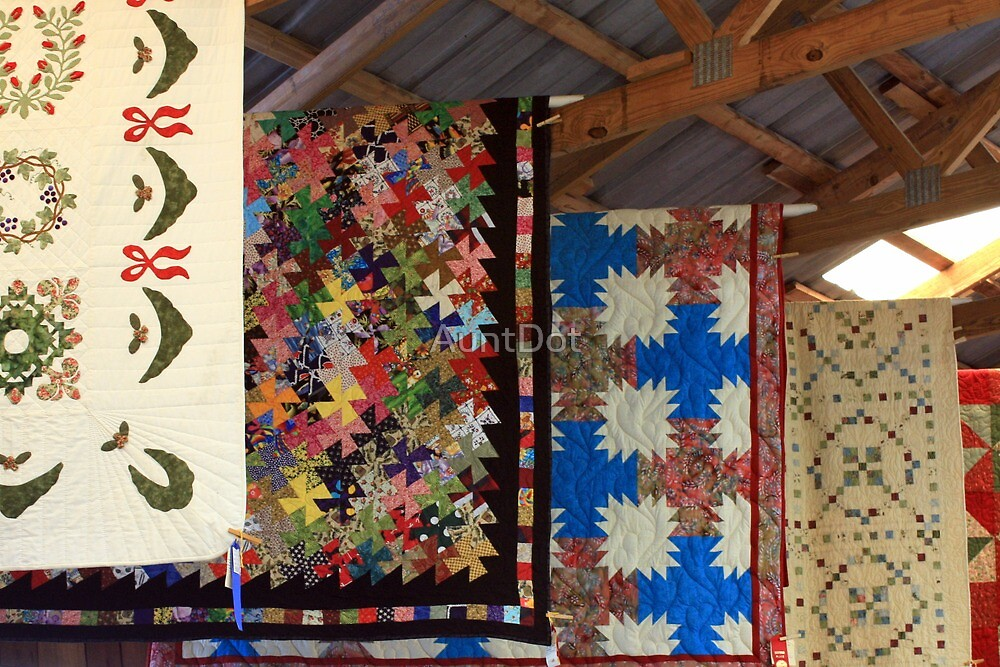 Quilts At the County Fair by AuntDot