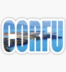 Corfu Sticker