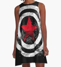 Winter Soldier A-Line Dress