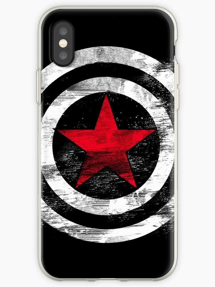 Winter Soldier Iphone Cases Covers By Greenline Redbubble