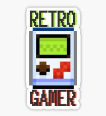 Retro Gamer- Pixels Sticker