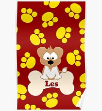 Les, The Fox Terrier Poster